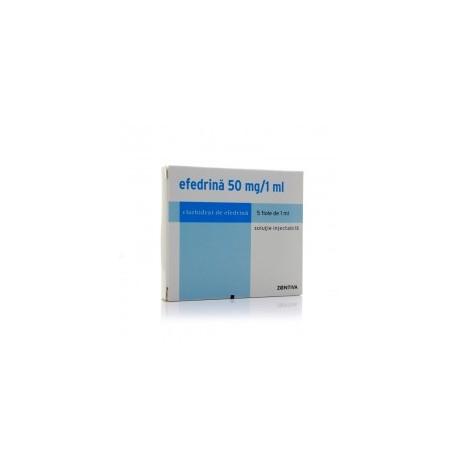 Efedrina 50mg /1 ml (perdida rapida de peso )