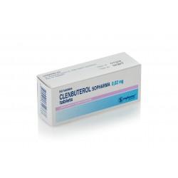 Clenbuterol 0.2 mg 50 pastillas (Sopharma)